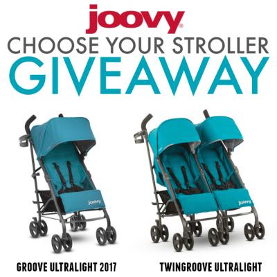 Joovy Stroller Giveaway!