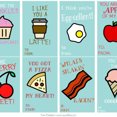 Food Pun Cards | Free Printable