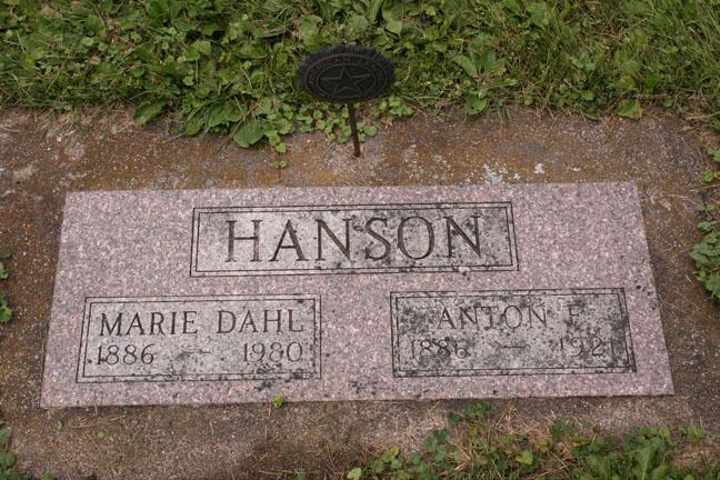 Anton & Marie Hanson