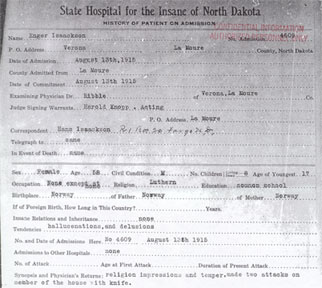 State Hospital Records