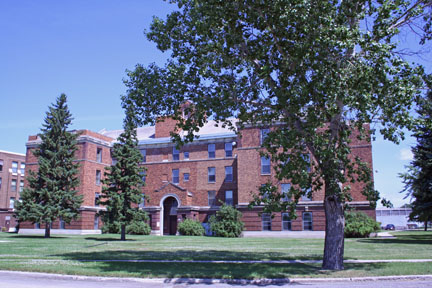 State Hospital in Jamestown, ND - Photo by Kathleen Murray