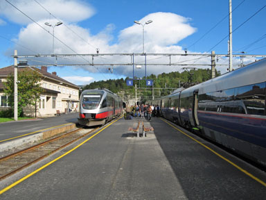 Train from Oslo