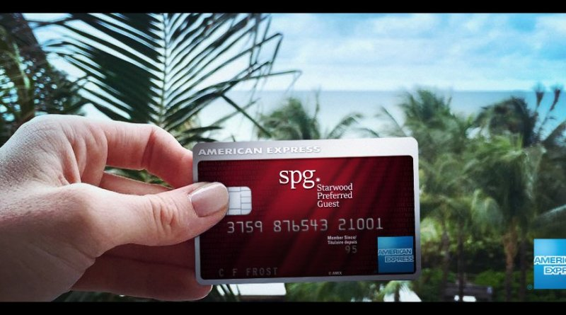 Starwood Preferred Guest (SPG) Credit Card by American