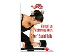Restaurant/Fitness Affiliate Ad