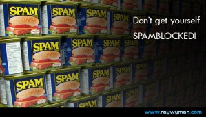 Spamblocked - the ultimate email campaign fail.