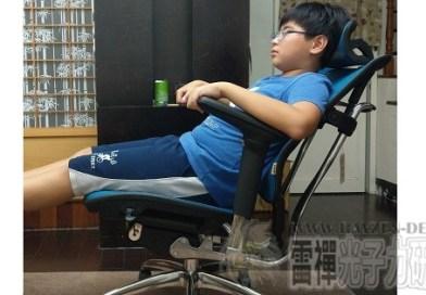 『開箱』鋁合金骨架電腦椅 唯美特WMT-A6人體工學椅