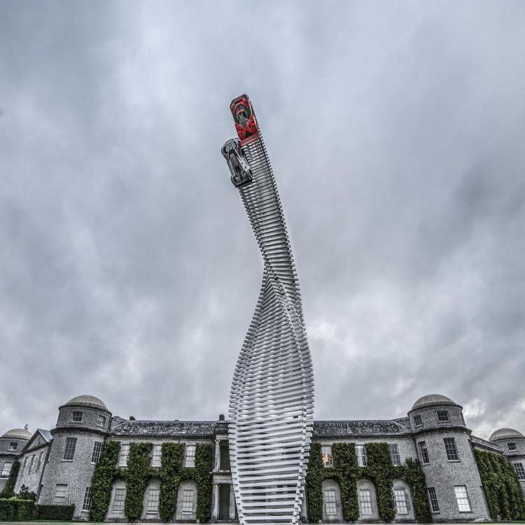 Mazda Goodwood escultura 4