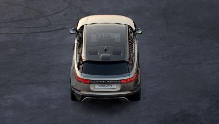 2017 Range Rover Velar topo