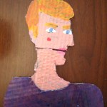 Alexei Cardboard Cartoon Portrait
