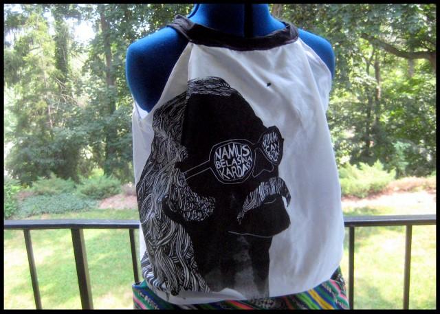 Razblint - A Cem Karaca Shirt - Black on white sheet