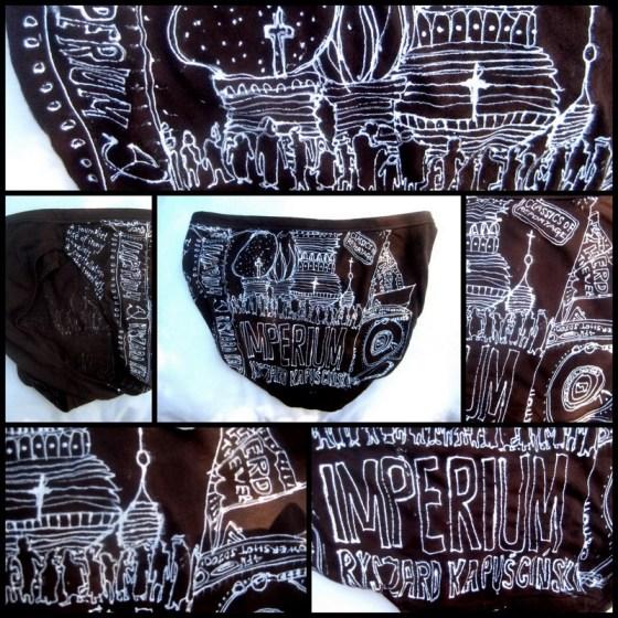 Razblint - Drawn Art Underwear - Ryszard Kapuczinski - Imperium