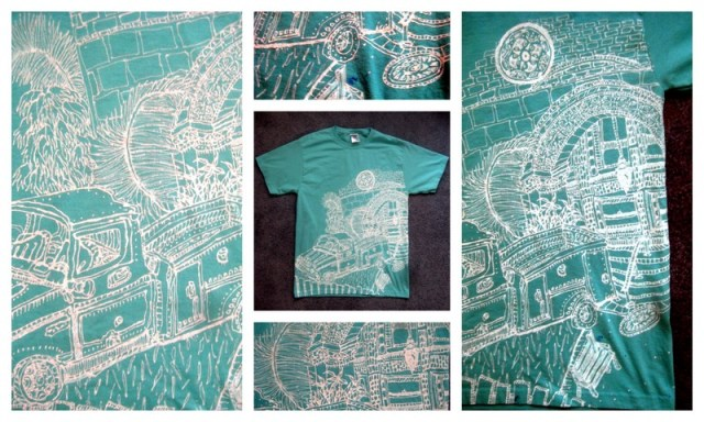 Razblint - Drawn Shirt - From Palo Alto - California Truck Palm College Drive JOrdan Hall Serra Drive Stanford