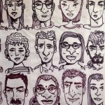 12 faces