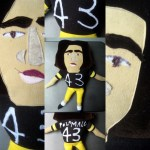 5 Troy Polamalu Dolls