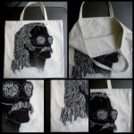 The Cem Karaca Tote Bag: Black on White