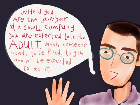 The lawyer as the adult