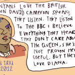 Travel Sketch: Kenyans & the British