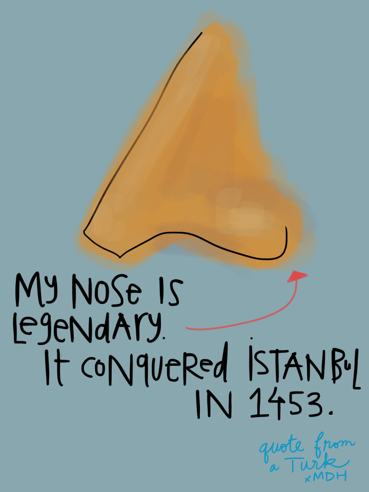 My_Nose conquered Istanbul