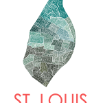 St. Louis city neighborhood map