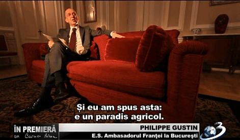 ambasadorul Frantei la Bucuresti
