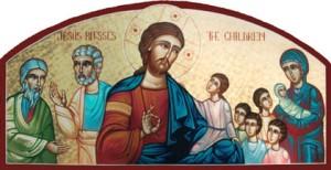 Hristos binecuvantand copiii 2