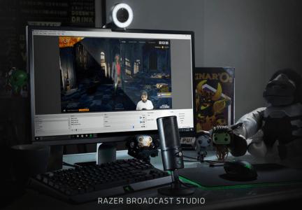 Razer ブロードキャストスタジオ ※クリックでRazerのHPへ