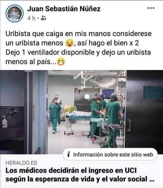 Médico amenaza en twitter 1