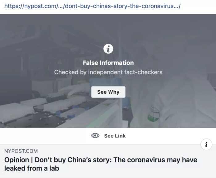 2 FB fact check