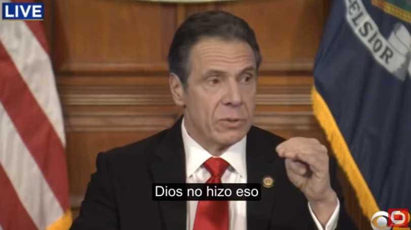 Gobernador de Nueva York 2 Dios no hizo eso 1