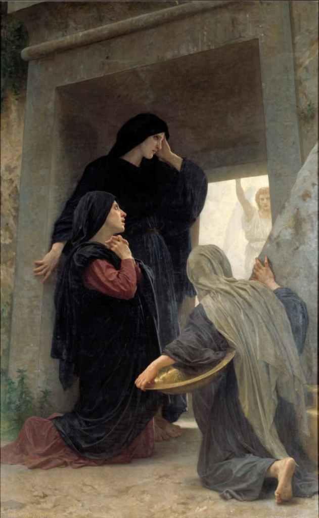 Las tres Marías en la tumba, William Adolphe Bouguereau