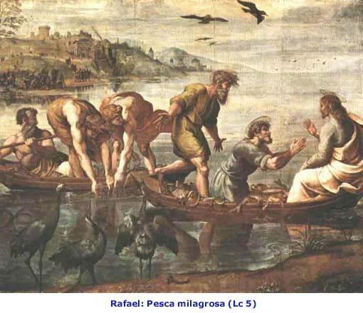 Pesca Milagrosa Lc 5 Rafael