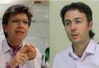 Alcaldes de Bogotá y Medellín