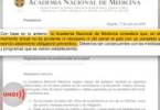 Academia Medicina no confinamiento estricto