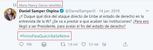 Daniel Samper Nancy García