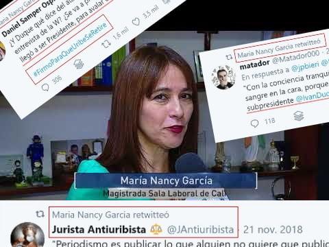 Nancy García posesión