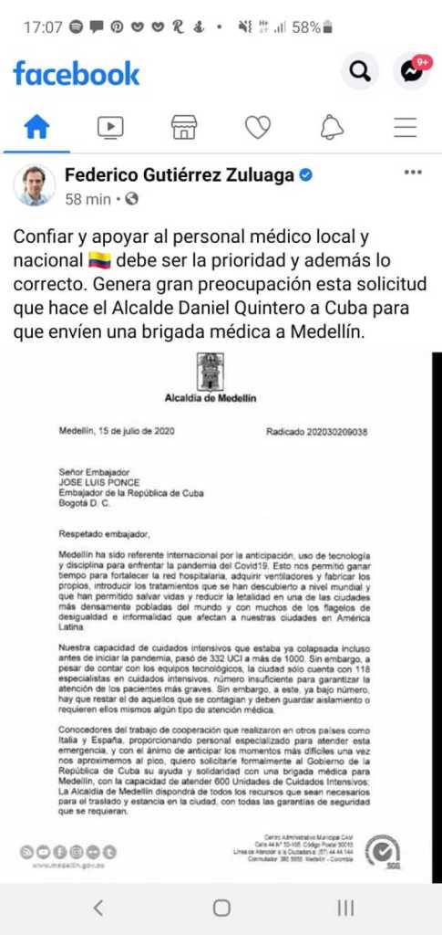 Rechazo y preocupación ante iniciativa de alcalde Quintero