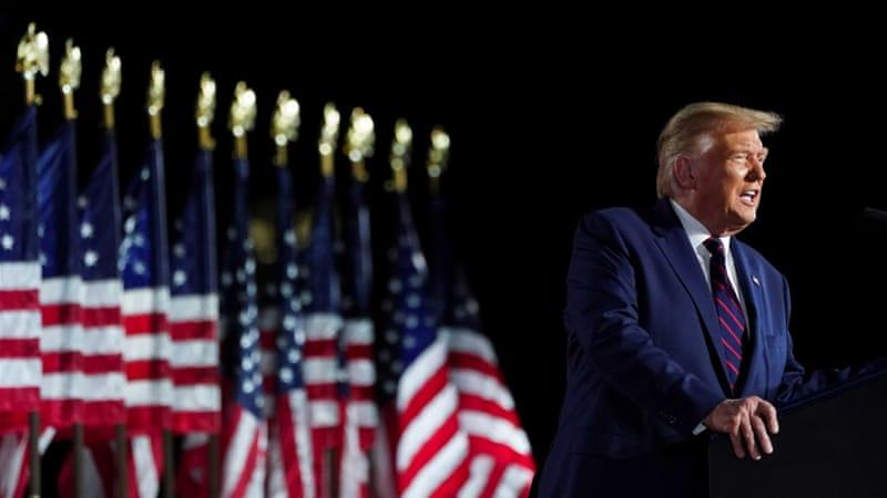 Trump accepts republican nomination 2020