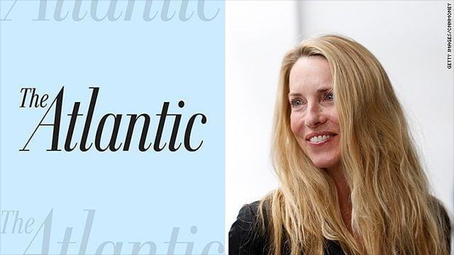 The Atlantic owner Laurene Powell