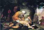 Giacomo Conti 1813 1888 La parabola del buen samaritano
