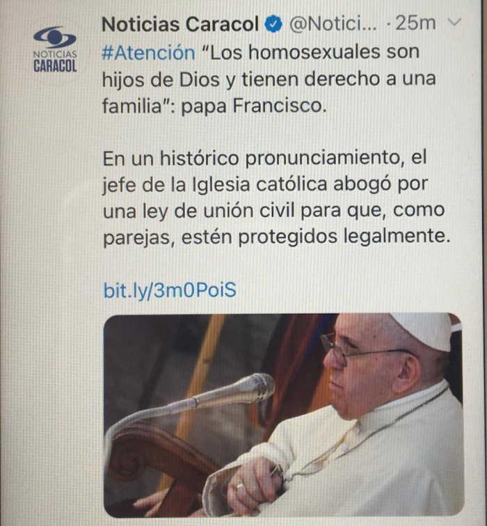 Los homosexuales son hijos de Dios