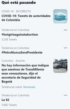 tendencia twitter