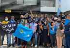 planton embajada argentina
