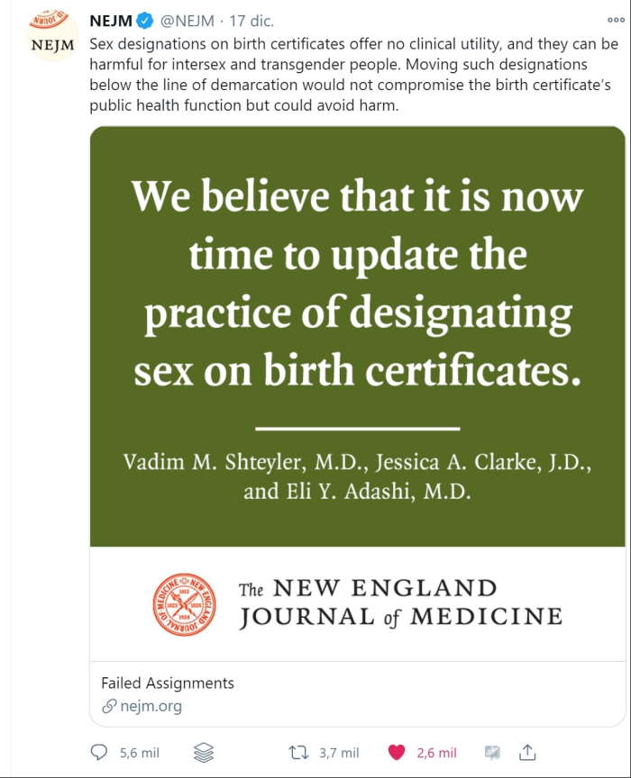 NEM birth certificates