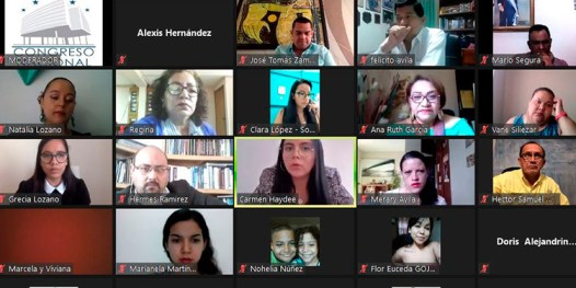 Sesion parlamento hondureno