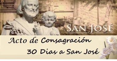 acto de consagracion a San Jose
