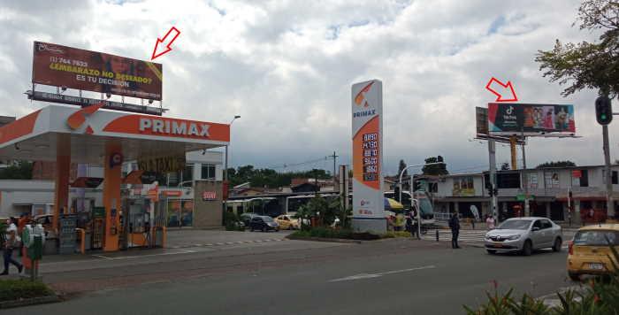 Vallas en Medellin Esquina Cra 70 x Cl 30