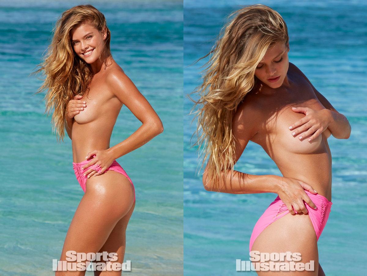 Nina Agdal At Arrivals For 2014 Sports Illustrated ... |Nina Agdal Sports Illustrated 2014