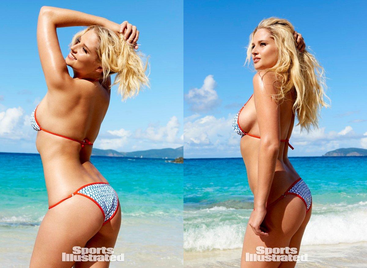 "... Nina Agdal Sports Illustrated Pics Uncensored"" – Calendar 2015"