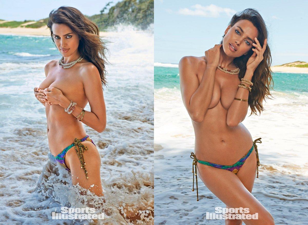 Sports Illustrated 2015 Swimsuit Model – Irina Shayk