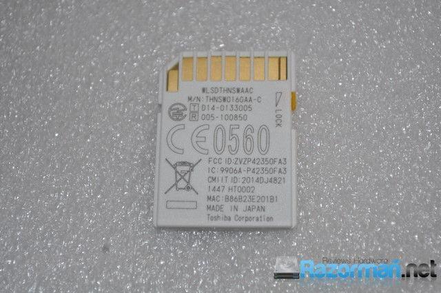 Review Toshiba FlashAir 16 Gb